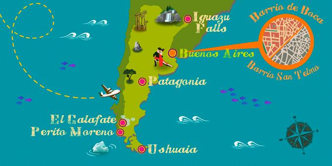 Argentina - Map