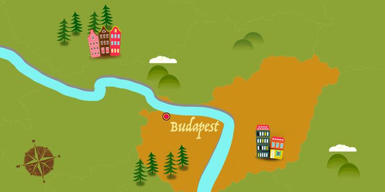 Hungary - Map