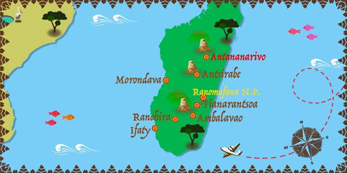 Madagascar - Map