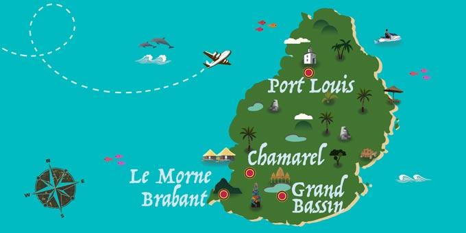 Mauritius - Map