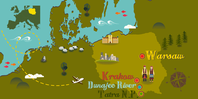 Poland - Map