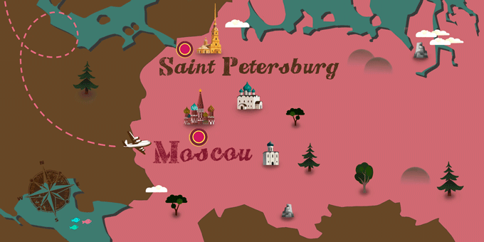 Russia - Map
