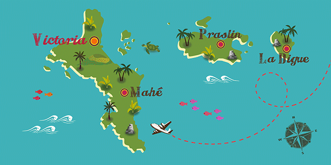 Seychelles - Map